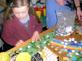 Blackwell First School Hall Mosaic