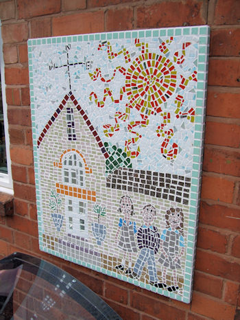 Exterior Mosaic at Blackwell First School
