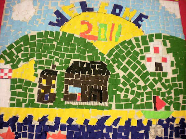Welcome to Paull Primary School Mosaic