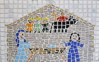 St Laurence Church Infant School Mosaic