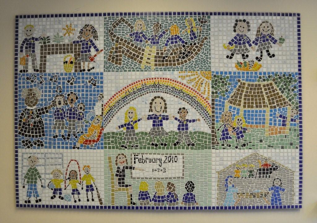 St Laurence School Mosaic