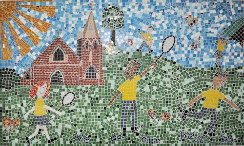 St Ambrose Mosaic